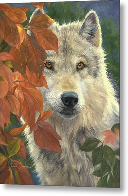 Woodland Prince Metal Print by Lucie Bilodeau