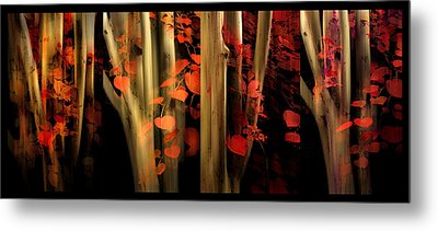 Metal Print featuring the photograph Woodland Whispers by Jessica Jenney