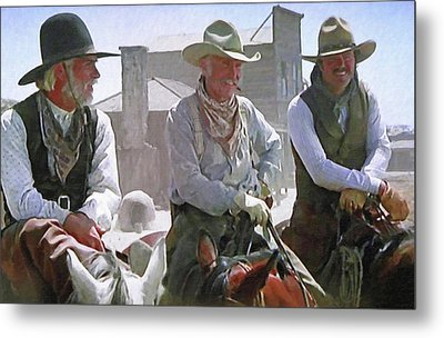 Woodrow - Gus - Jake Metal Print by Donna Kennedy
