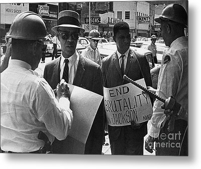 Woolworths Protest, 1963 Metal Print