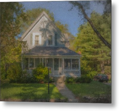 Wooster Family Home Metal Print by Bill McEntee