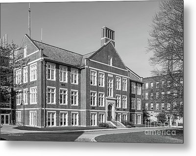 Worcester Polytechnic Institute Higgins Hall Metal Print by University Icons