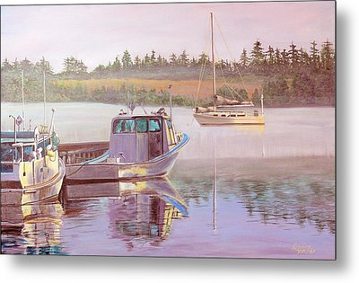 Work And Play Metal Print by Lorraine Vatcher
