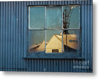 Metal Print featuring the photograph Work View 1 by Werner Padarin