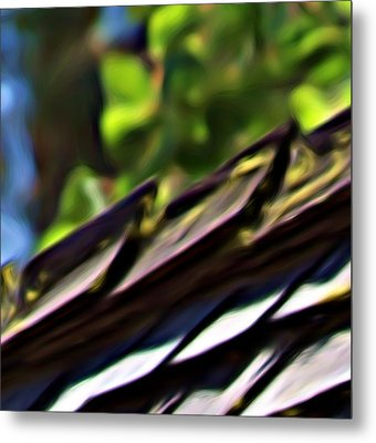 Working Toward Abstraction Metal Print by Shawn Wallwork