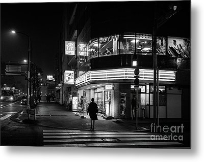 Workout The Night, Tokyo Japan Metal Print