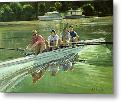 World Champions Metal Print by Timothy Easton