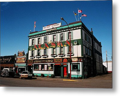 World Famous Alaska Hotel Metal Print by Juergen Weiss