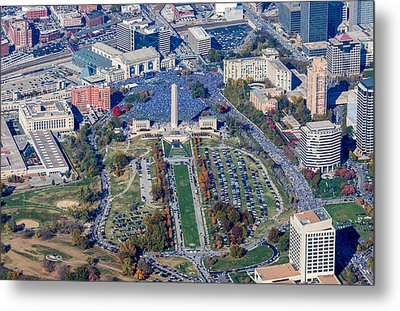 World Series Rally 2015 Metal Print by Steve and Laura Johnson