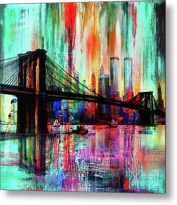 World Trade Center 01 Metal Print by Gull G