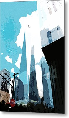 Freedom Tower Dreams Metal Print
