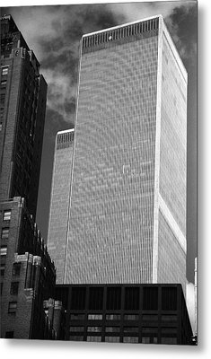 World Trade Center Metal Print by Eric Foltz