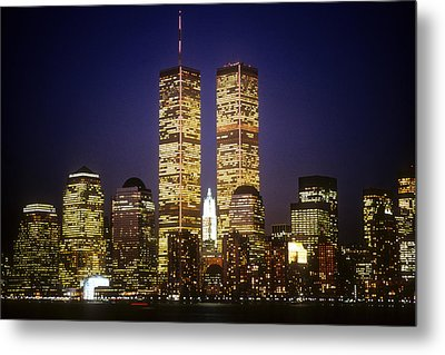 World Trade Center Metal Print by Gerard Fritz