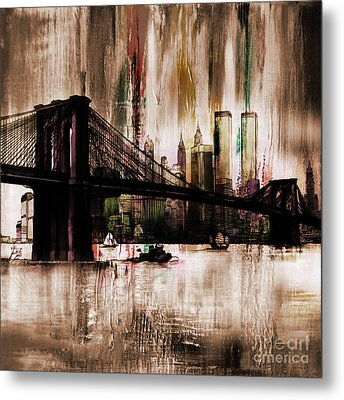 World Trade Center Metal Print by Gull G