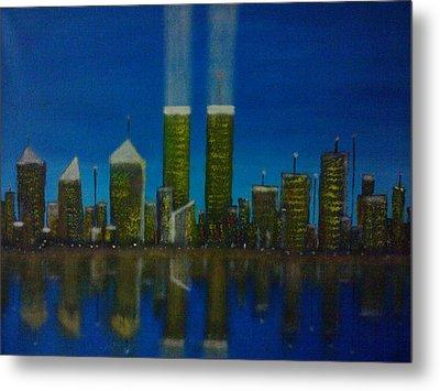 World Trade Center Metal Print by Jason Walburn