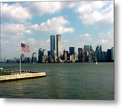 World Trade Center Remembered Metal Print