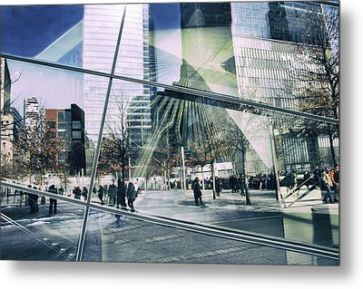 Metal Print featuring the photograph World Trade  by Jessica Jenney