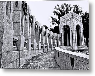 World War II Memorial # 4 Metal Print by Allen Beatty