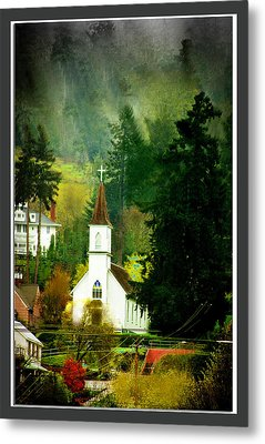 Worship In Kalama Metal Print by Dale Stillman