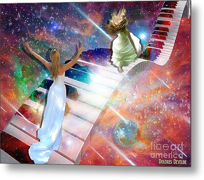 Worship In Spirit And In Truth Metal Print by Dolores Develde