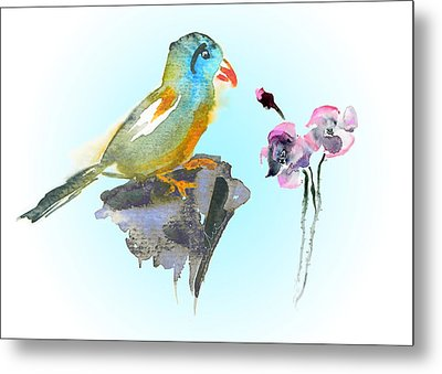 Would You Care To Dance With Me Metal Print by Miki De Goodaboom