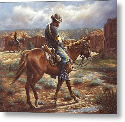 Wounded In Action Metal Print