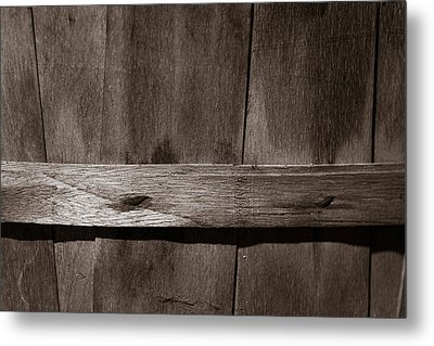 Metal Print featuring the photograph Woven Wood by Chris Bordeleau