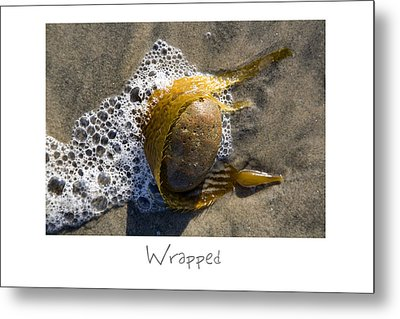 Wrapped Metal Print by Peter Tellone