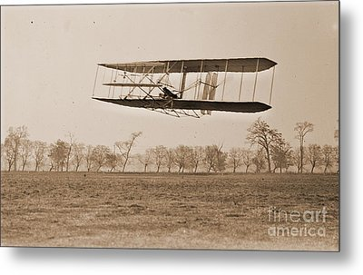 Wright Brothers Flight 85 Metal Print by Padre Art