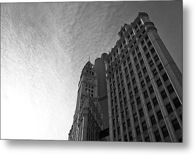 Metal Print featuring the photograph Wrigley Building II by Jane Melgaard