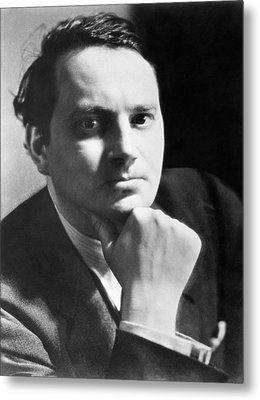 Writer Thomas Wolfe Metal Print by Underwood Archives
