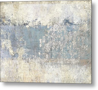 Writing On The Wall Number 2 Metal Print by Carol Leigh