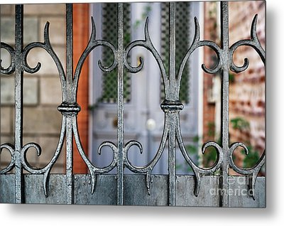 Wrought Iron Metal Print by Elena Elisseeva