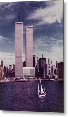 wtc Remembered Metal Print by Laura Fasulo