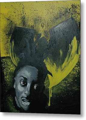 Wu Tang Killa Bee Metal Print by Matt Burke