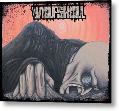 Wulfskull#4 Metal Print