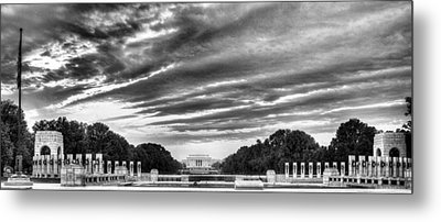 Ww Two Memorial Metal Print by JC Findley