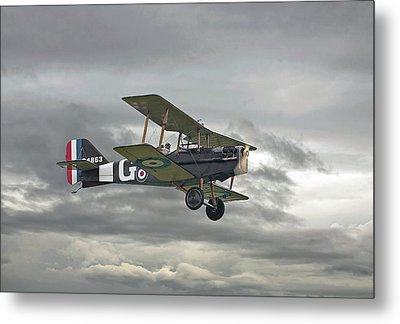 Metal Print featuring the digital art Ww1 - Icon Se5 by Pat Speirs