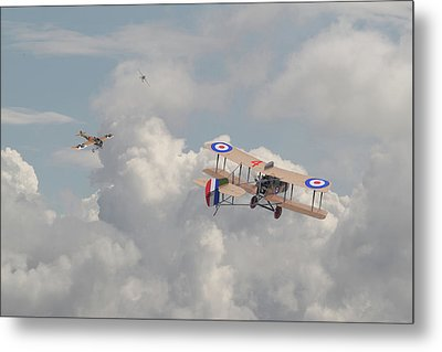 Ww1 - The Fokker Scourge - Eindecker Metal Print