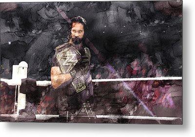 Wwe Wrestling 107 Metal Print