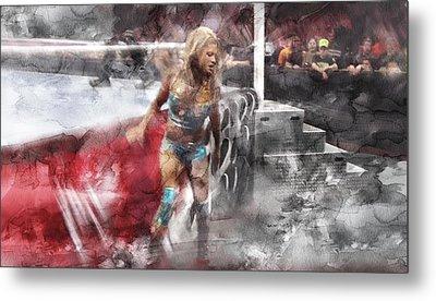 Wwe Wrestling 348 Metal Print by Jani Heinonen