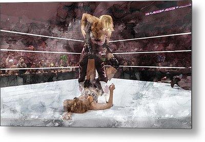Wwe Wrestling 45 Metal Print