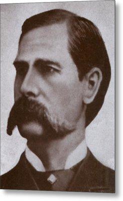 Wyatt Earp 1848-1929, Legendary Western Metal Print