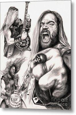 Wylde Man Metal Print