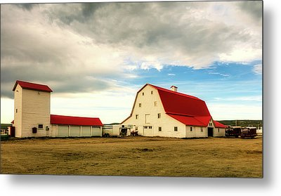 Wyoming Ranch Metal Print by L O C