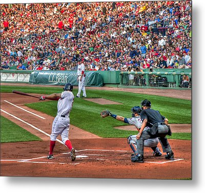 Xander Bogaerts - Boston Red Sox Metal Print