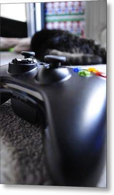 Xbox 360  Metal Print by Brynn Ditsche