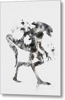 Xenomorph Metal Print by Rebecca Jenkins