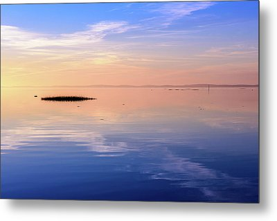 Xtra Blue Metal Print by Thierry Bouriat