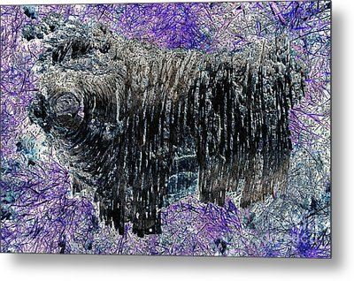 Yak Attack Metal Print by John Gaffen